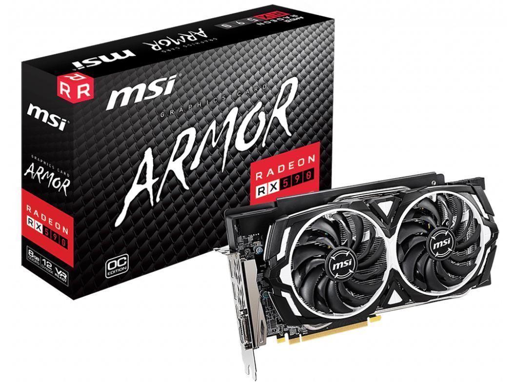 MSI COMPUTER Radeon RX 590 ARMOR 8G OC【smtb-s】
