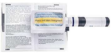エッシェンバッハ 158064オキガタライトルーペ3X 置型LEDライトルーペ角型3倍(ディオプター:7.6)/100×50mm 1580-64【smtb-s】