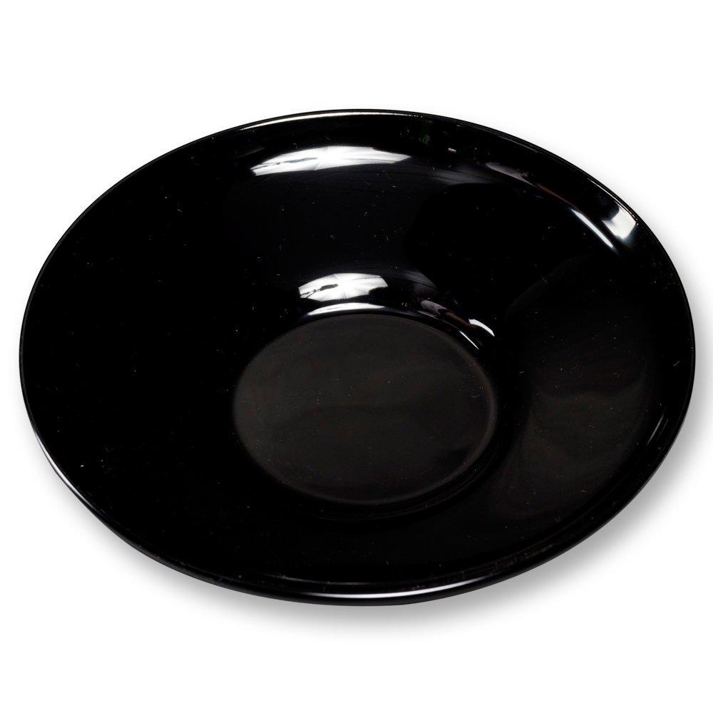 大藤漆器店 輪島塗 茶托 5客揃 4.2だるま 黒 WA5-3 (1233706)【smtb-s】