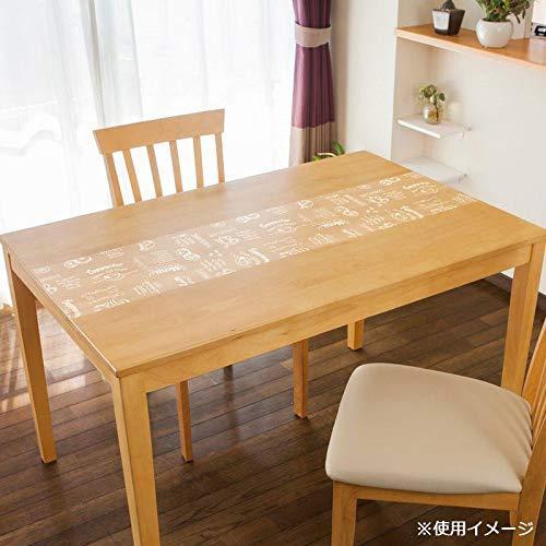明和グラビア 貼る透明テーブルクロス カフェ 30×2000cm ホワイト KPL-01 (1410340)【smtb-s】