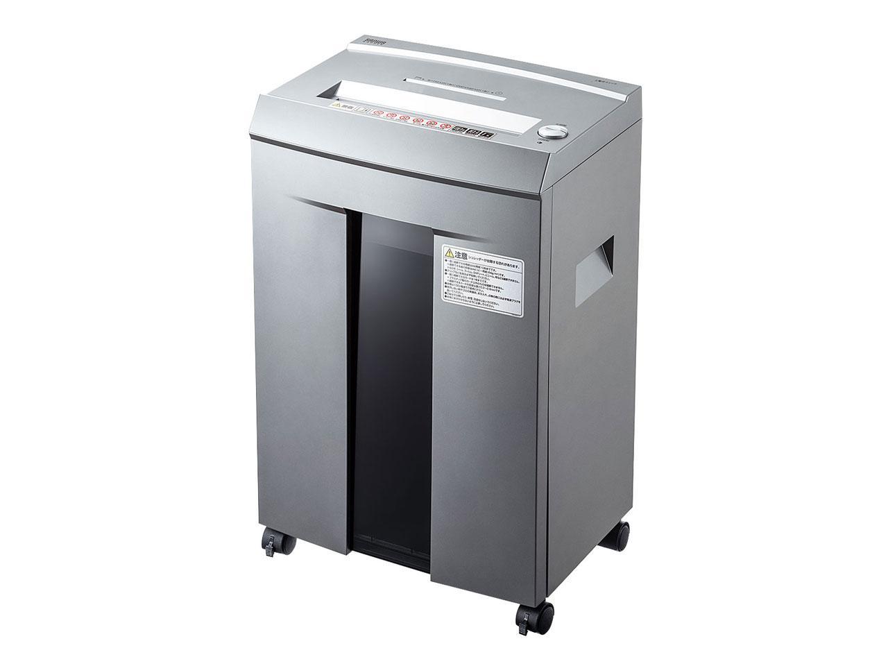 サンワサプライ ペーパー&CDシュレッダー(40分連続・マイクロカット・10枚) 品番:PSD-M4010【smtb-s】