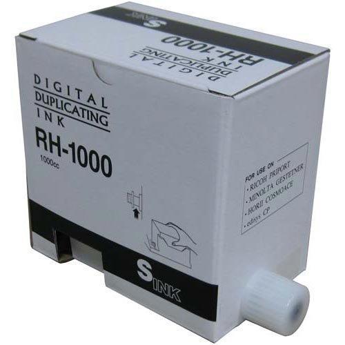 軽印刷機汎用インク RH-1000 黒 5本 279564【smtb-s】