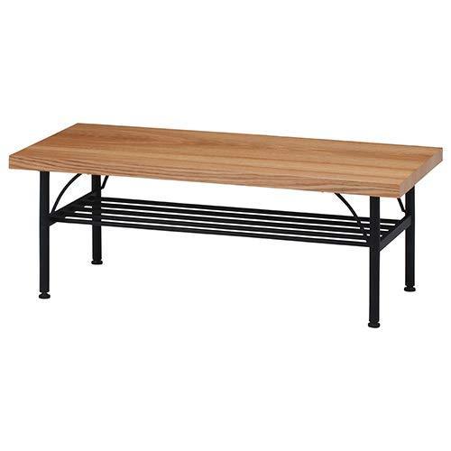 不二貿易 リビングテーブル レアル ナチュラル 品番:14682 北海道、沖縄、離島配送不可【smtb-s】