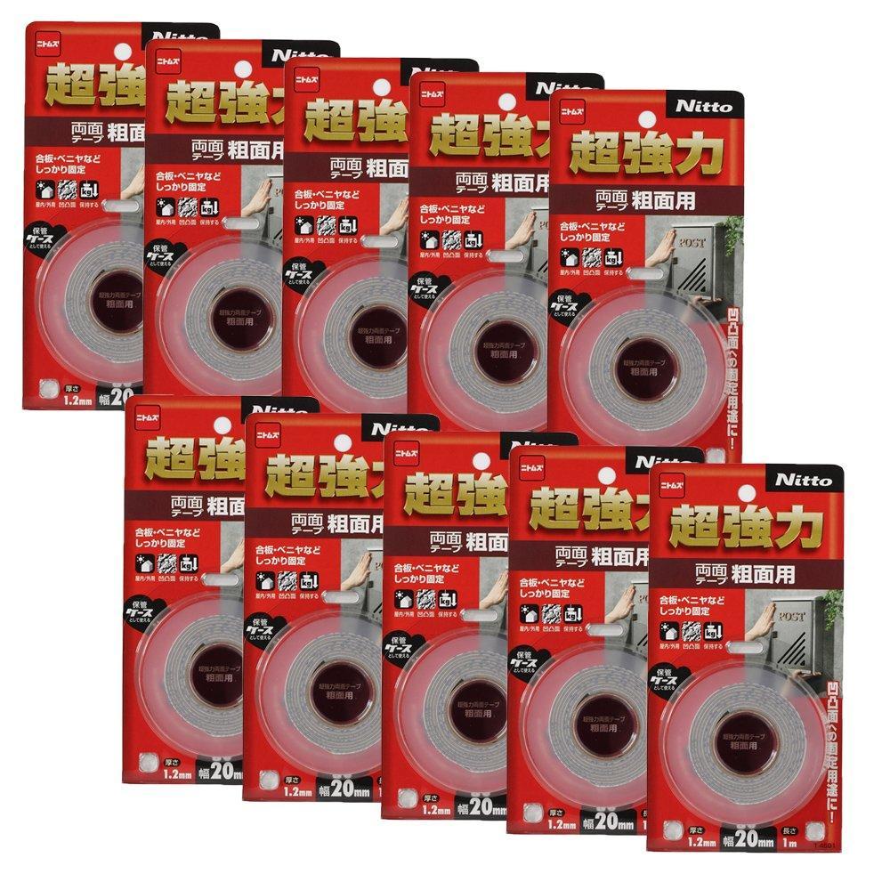 送料無料 ハンディ クラウン テープ粗面用20 新入荷 流行 10P T4591超強力両面 年末年始大決算