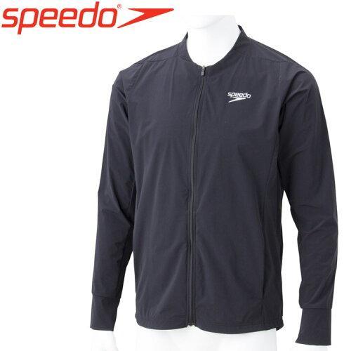 Speedo(スピード) ACROSS_DRK_JACKET (SA01921) [色 : ブラック] [サイズ : S]【smtb-s】