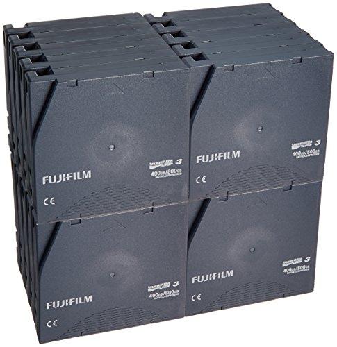 富士フイルム LTOテープ Ultrium3データカートリッジ(記憶容量非圧縮時400GB/20巻パック品/プラスチックケースなし仕様)(LTO FB UL-3 400G ECO J)