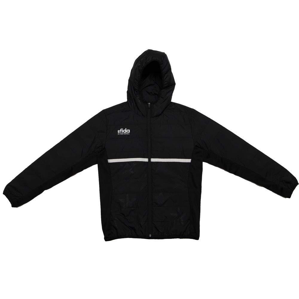 SFIDA(スフィーダ) フードナカワタジャケット (SA19A19) [色 : BLACK] [サイズ : M]【smtb-s】