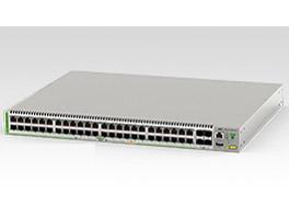 アライドテレシス AT-GS980M/52PS[10/100/1000BASE-Tx48(PoE-OUT)、SFPスロットx4](3632R)【smtb-s】
