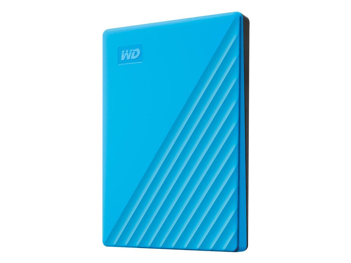 WESTERN DIGITAL WDBYVG0020BBL-JESN My Passport 2TB ブルー(WDBYVG0020BBL-JESN)【smtb-s】