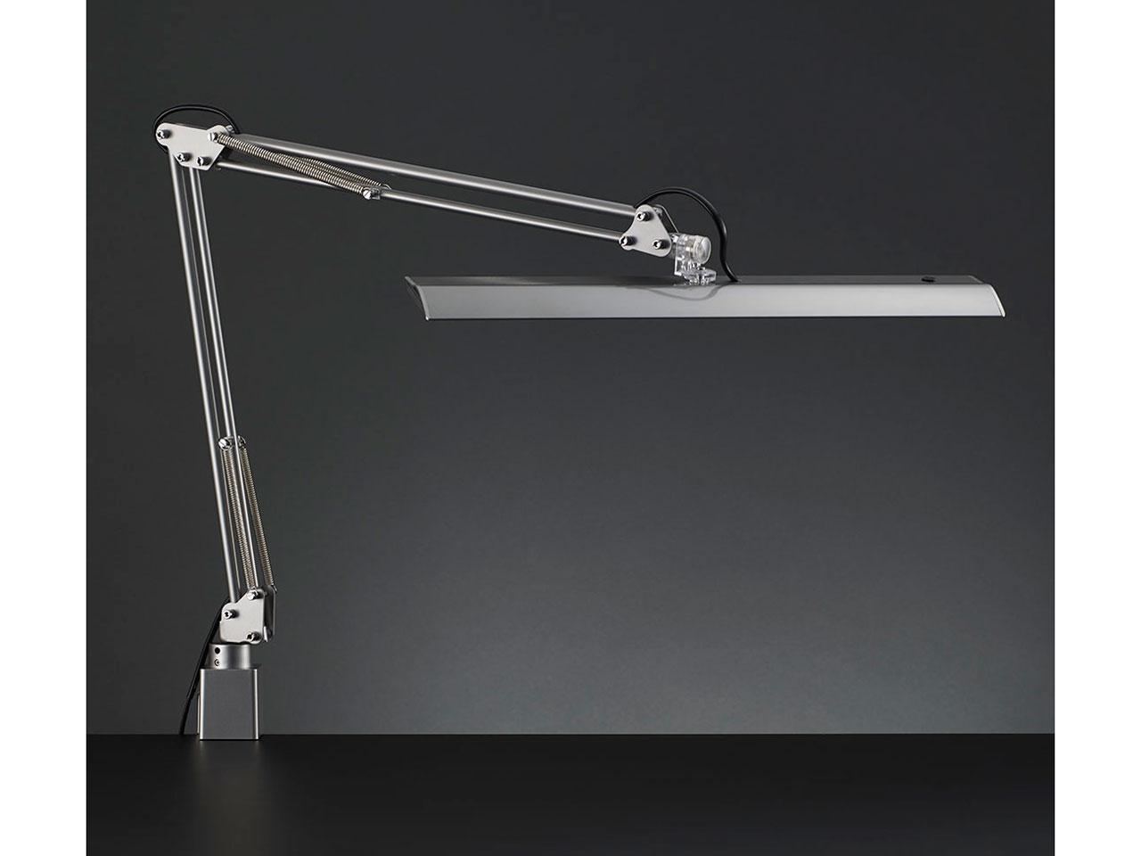 山田照明 Z-LIGHT LEDデスクライト 高演色Ra90 肌色きれい 明るさ2430Lx シルバー Z-10RSL【smtb-s】