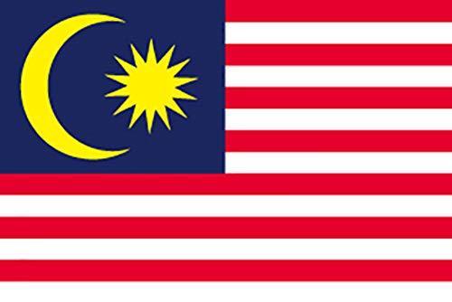 のぼり屋工房 N国旗 マレーシア No.2 W1350×H900mm 23484 (1489813)【smtb-s】