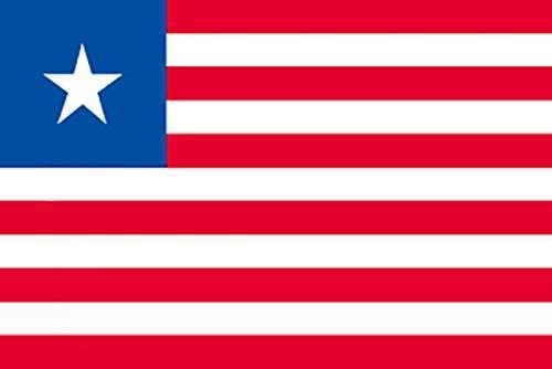 のぼり屋工房 N国旗 リベリア No.2 W1350×H900mm 23568 (1489897)【smtb-s】