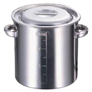 赤川器物製作所 1337039 AGモリブデン目盛付寸胴鍋39cm 46.0L【smtb-s】