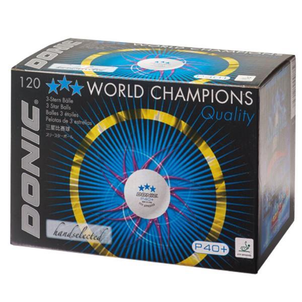DONIC(ドニック) DONIC 3スターボール P40+ 10ダース ホワイト DL015【smtb-s】