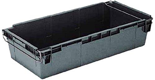 岐阜プラスチック工業 リス HB型コンテナーHB-120 グレー HB-120 3039081【smtb-s】