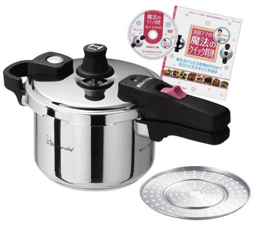 ワンダーシェフ/Wonder chef 魔法のクイック料理 片手圧力鍋 3.0L (QSA30) 602770【smtb-s】