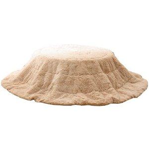 ◆セール特価品◆ 送料無料 イケヒコ コーポレーション フィラメント素材 フィリップ円形 こたつ薄掛け布団単品 ベージュ 径200cm