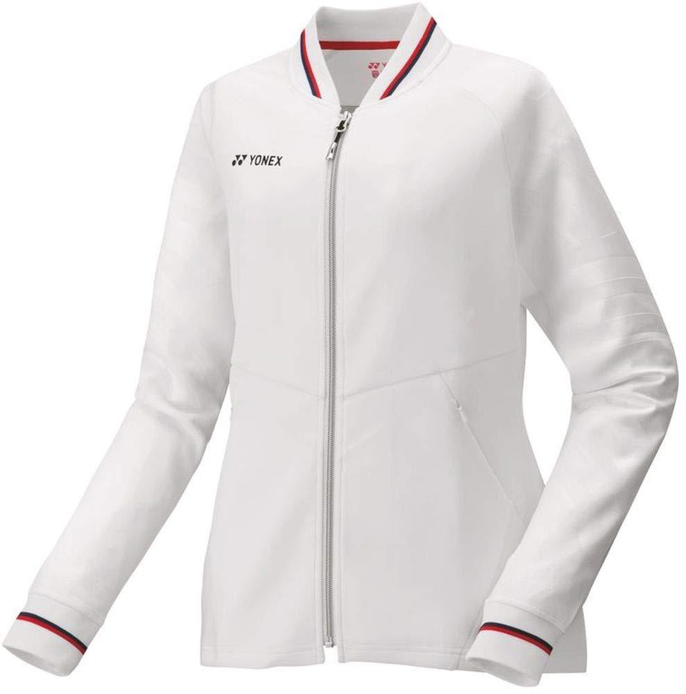ヨネックス ウィメンズニットウォームアップシャツ (57050) [色 : ホワイト] [サイズ : L]【smtb-s】