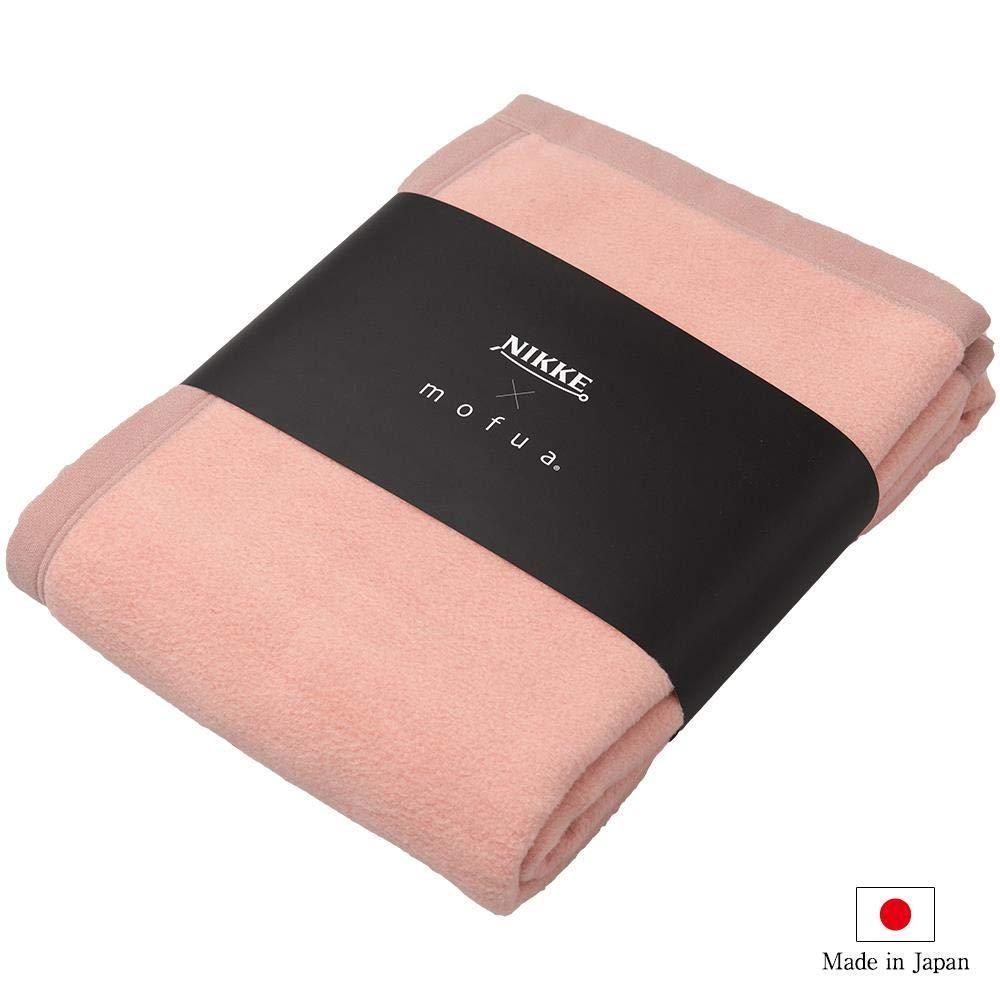 ナイスデイ NIKKE×mofua シルク100% 毛布 品番:56460101 色:ピンク サイズ:S【smtb-s】