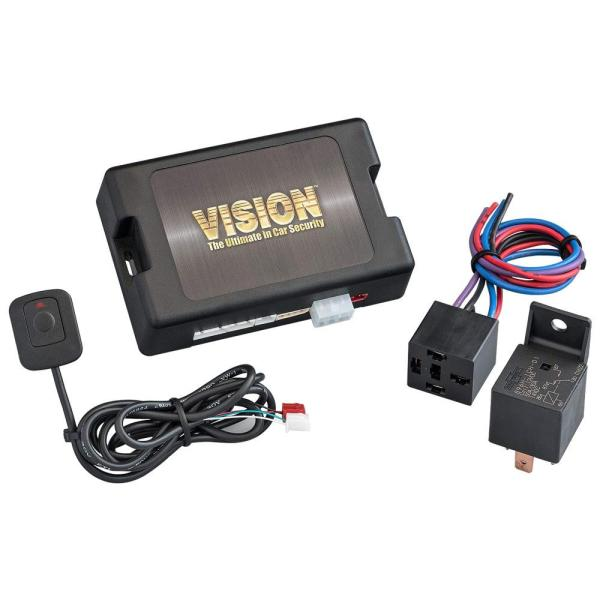 VISION 盗難発生警報装置 24V専用スマートセキュリティ  リモコン×2コセット 2460H-2S (2460H+TR365D) (1367982)【smtb-s】