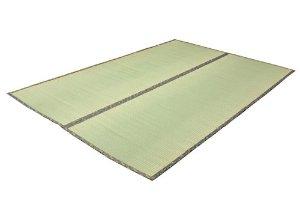 イケヒコ・コーポレーション 純国産 糸引織 い草上敷 『湯沢』 江戸間8畳(約352×352cm)