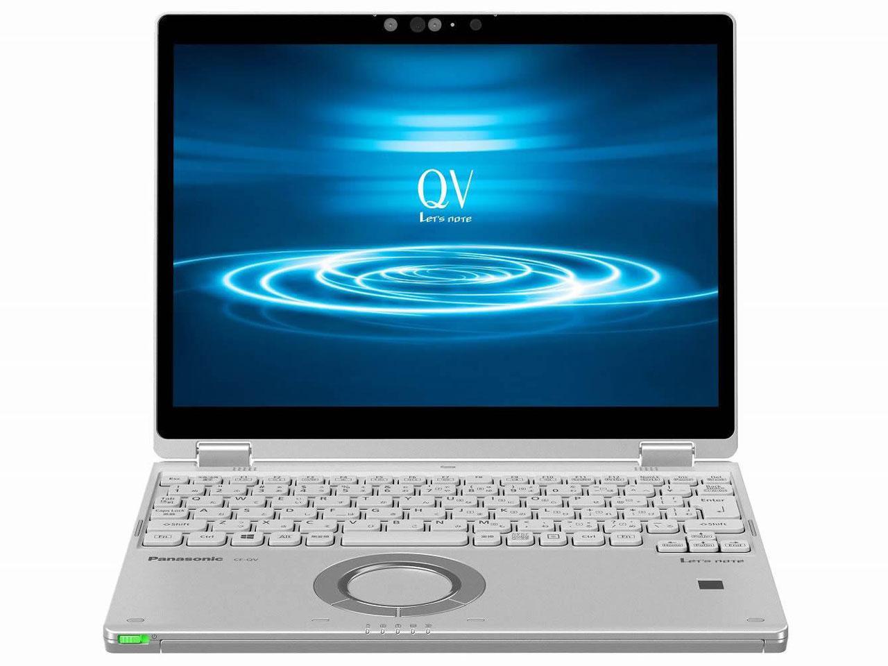 パナソニック Lets note QV8シリーズ(Core i5-8265U/SSD256GB/W10Pro64/12.0WQXGA+(CF-QV8NDGQR)【smtb-s】
