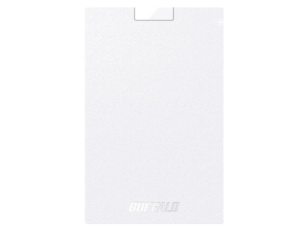 バッファロー USB3.1(Gen1)ポータブルSSD 1.9TB ホワイト(SSD-PG1.9U3-WA)【smtb-s】