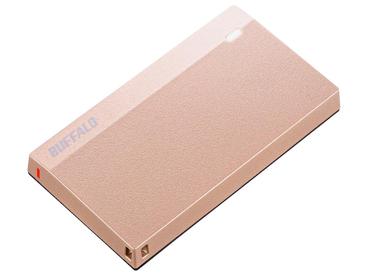 バッファロー SSD-PSM480U3-SP USB3.2(Gen1) 超小型ポータブルSSD 480GB SP(SSD-PSM480U3-SP)【smtb-s】