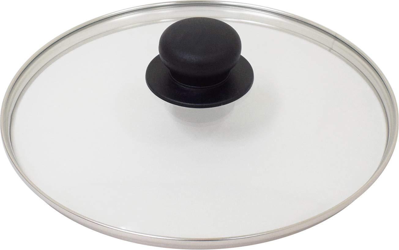 送料無料 公式サイト ウルシヤマ金属工業 Urushiyama ウルシヤマ 毎日続々入荷 24cm ガラス蓋 1400801 UYG-24
