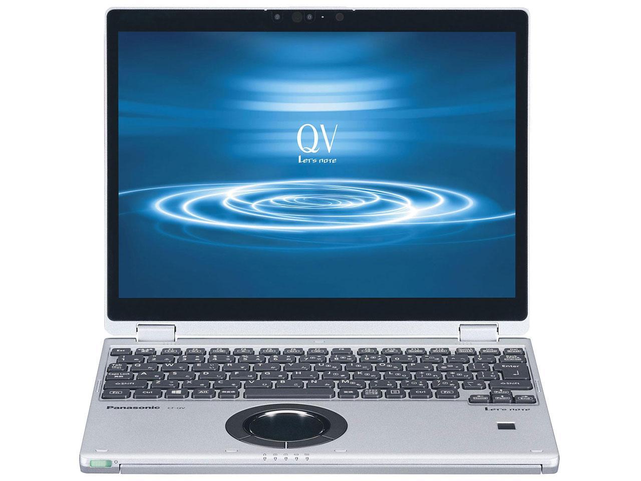 パナソニック Lets note QV8シリーズ(Core i5-8265U/SSD256GB/RAM 16GB/W10Pro64/1(CF-QV8NDMQR)【smtb-s】