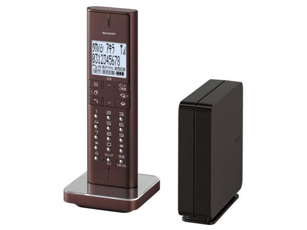 シャープ デジタルコードレス電話機(ブラウン系)(JD-XF1CL-T)【smtb-s】 JD-XF1CL-T