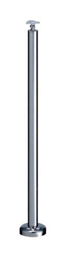 シロクマ 支柱B(ベースプレート式) 鏡面磨 ABR-709B【smtb-s】