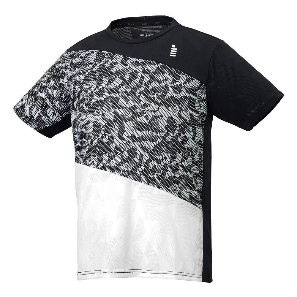 【送料無料】 ゴーセン ゲームシャツ (T2052) [色 : ブラック] [サイズ : M]