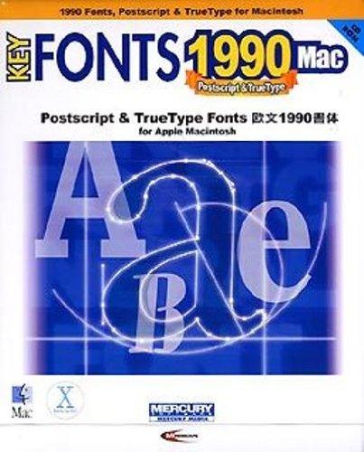 マーキュリー·ソフトウェア·ジャパン KeyFonts 1990 Mac [MAC]