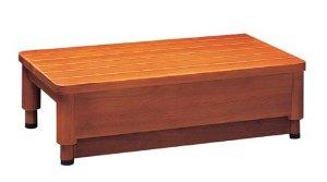 豊通オールライフ 木製玄関踏み台GR 1型 幅45cm F01861【smtb-s】