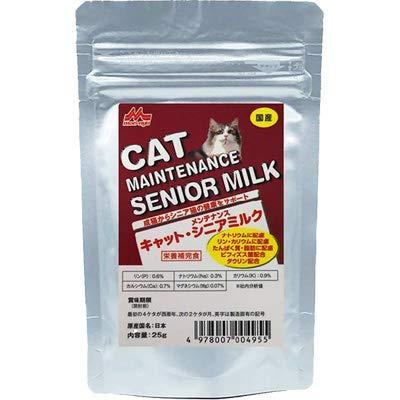 森乳サンワールド 希少 ワンラック 25g キャットシニアミルク 在庫処分