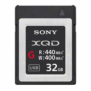お値打ち価格で 送料無料 ソニー XQDメモリーカード 倉 Gシリーズ 32GB smtb-s QD-G32E