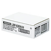 コクヨ カラーレーザー カラーコピー ラベル リラベル はかどりタイプ 18面上下余白付 500枚 LBP-E80644【smtb-s】
