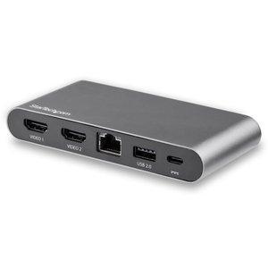 送料無料 SALE STARTECH.COM USB-C マルチアダプタ 2x 100W HDMI 18%OFF PD DK30C2HAGPD