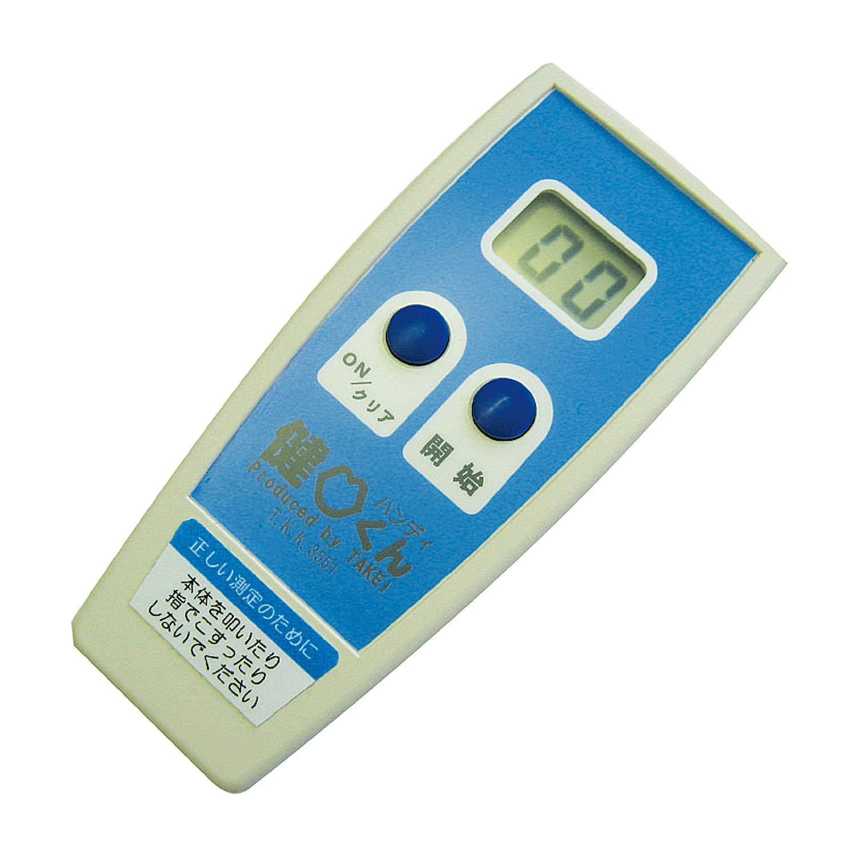 オーバーのアイテム取扱☆ 送料無料 松吉医科器械 口腔機能測定機器 健口くんハンディ 1個 T.K.K.3351 新作アイテム毎日更新
