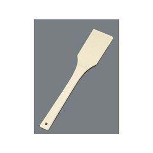 送料無料 おすすめ特集 ノーブランド 商品コード:8398200 デポー EBM TPX樹脂 抗菌耐熱 角スパテル 500