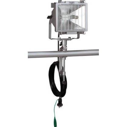 ハタヤリミテッド ハタヤ 防雨型ハロゲンライト 500W 100V接地付電線5m バイス付  PH-505KN【smtb-s】