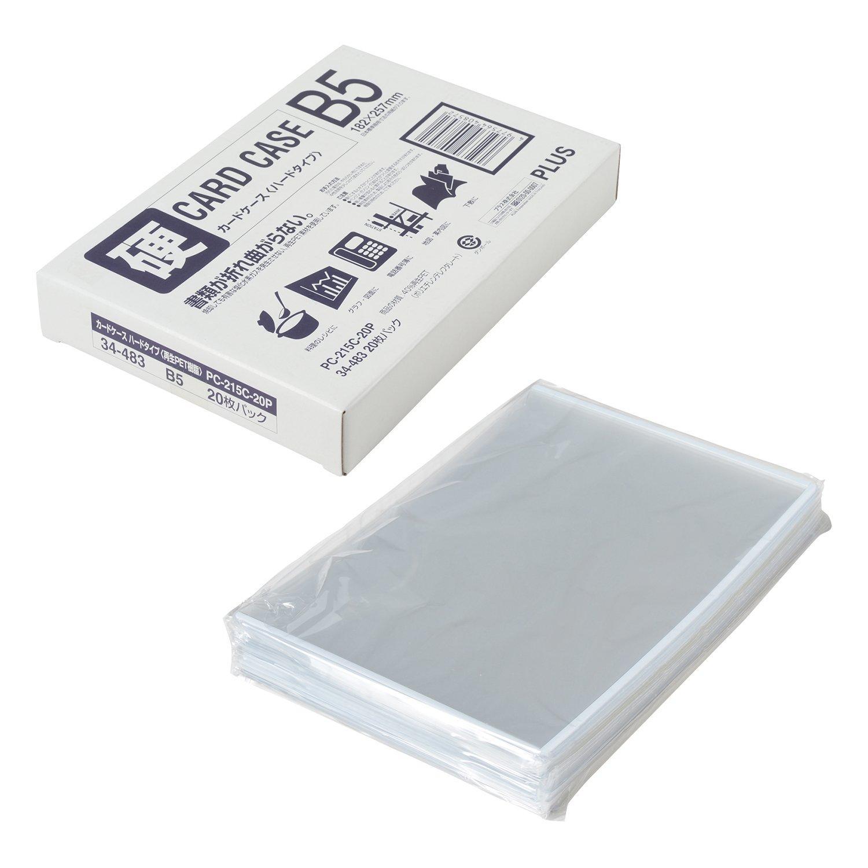 送料無料 プラス 賜物 再生カードケース20Pハード PC-215C-20P 特価キャンペーン 34483