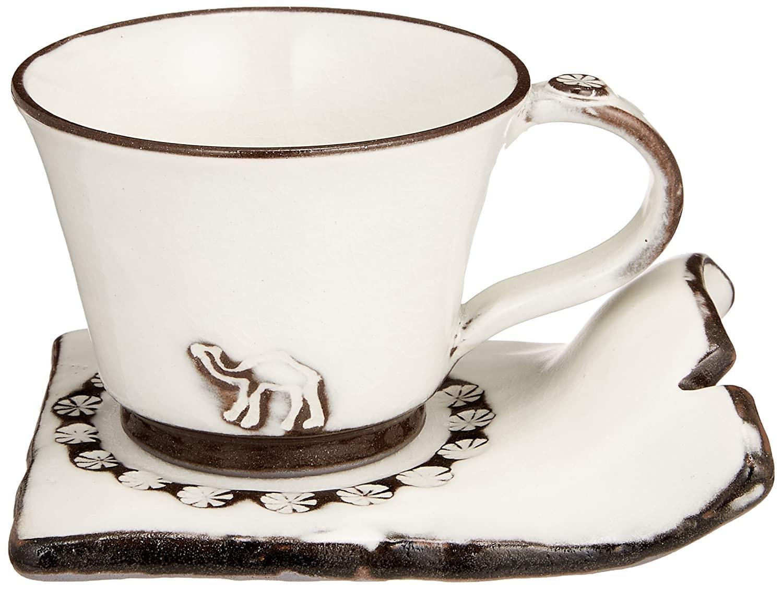 35%OFF まとめ買い特価 送料無料 金陶苑 匠魅 ペア碗皿 らくだのコーヒー 160251