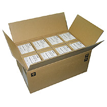 CANON 古紙配合 両面マットコート 名刺サイズ クリーム 500枚入×16箱(3163B002)【smtb-s】