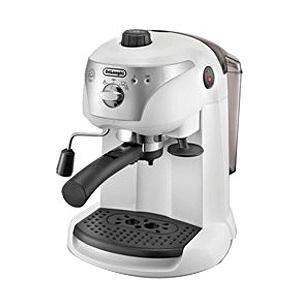 デロンギ エスプレッソマシン兼用 コーヒーメーカー ホワイト EC221W【smtb-s】