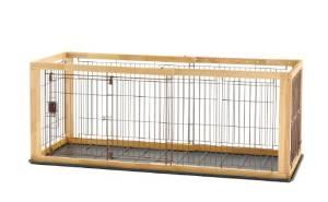 Richell(リッチェル) 木製スライドペットサークル レギュラー 小型犬用 【ナチュラル】【smtb-s】