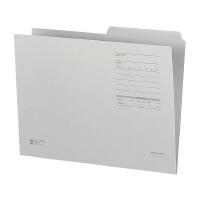 送料無料 売却 コクヨ 1 2カットフォルダーカラーFタイプA4 グレー 10個入 1セット 入数:10 販売単位 正規逆輸入品 A4-2FF-M
