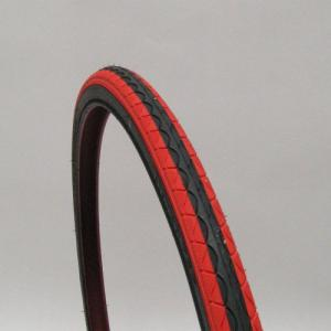シンコー  / タイヤ(700c) / クロスタイヤ  SR018 700×35C 1本 黒赤 リムフラップなし /【沖縄・離島への配送不可】