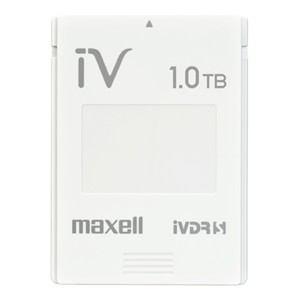 マクセル <---->カセットハードディスク アイヴィ 「カラーシリーズ」(M-VDRS1T.E.WH)【smtb-s】